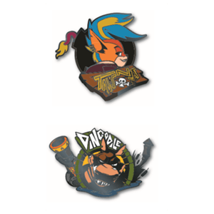 Set de Pins Crash Bandicoot Pin Kings 1.3