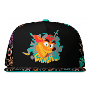 Gorra Crash Bandicoot Premium Pattern