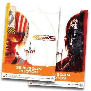 Star Wars Squadrons - póster