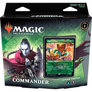 Mazo Magic the Gathering Commander: El Resurgir de Zendikar
