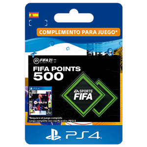 FIFA 21 Ultimate Team 500 Points PS4