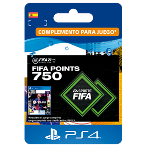 FIFA 21 Ultimate Team 750 Points PS4