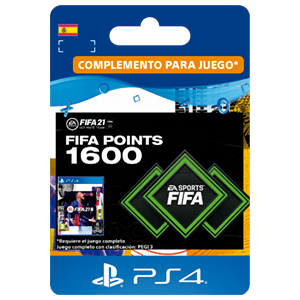 FIFA 21 Ultimate Team 1600 Points PS4