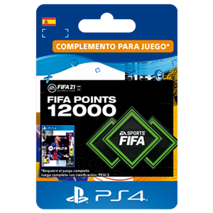 FIFA 21 Ultimate Team 12000 Points PS4