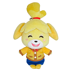 Peluche Animal Crossing: Canela  20cms
