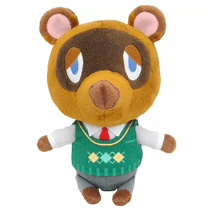 Peluche Animal Crossing: Tom Nook 20cms