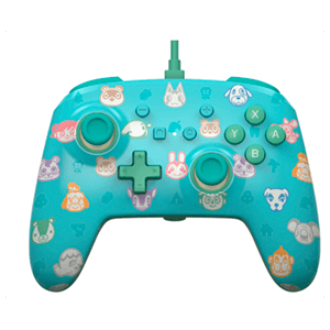 Controller con Cable PowerA Animal Crossing -Licencia oficial-
