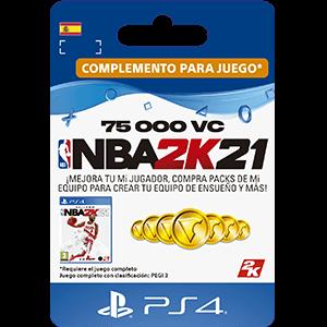 NBA 2K21 75.000 VC PS4