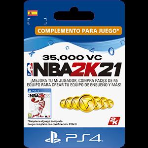 NBA 2K21 35.000 VC PS4