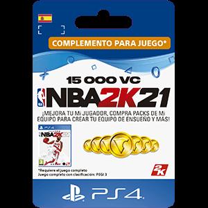 NBA 2K21 15.000 VC PS4
