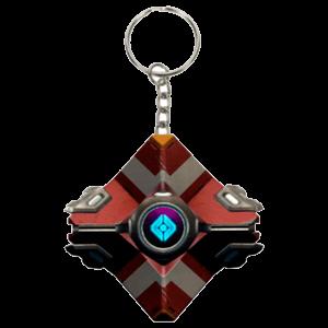 Llavero Destiny: Frontier Shell 3D