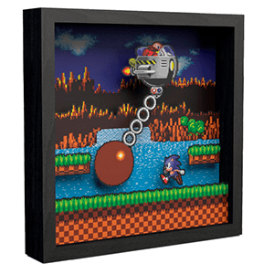 Pixel Frames Sonic the Hedgehog Wrecking Ball L