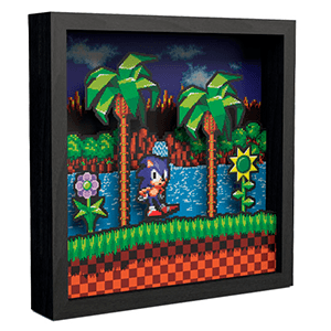 Pixel Frames Sonic the Hedgehog Idle Pose L