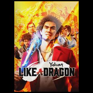 Yakuza Like a Dragon - Litografia