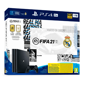 Playstation 4 PRO 1Tb Real Madrid + FIFA 21 + FUT
