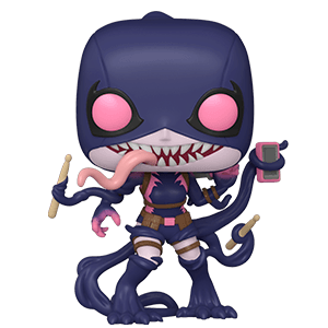 Figura Pop Marvel: Venomized Gwenpool