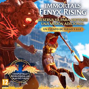 Immortal Fenyx Rising - DLC Un Cuento de Fuego y Luz