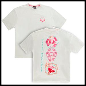 Camiseta Spider Gwen Talla L Mujer