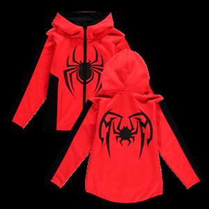 Sudadera Spider-Man Miles Morales Talla 98-104cms