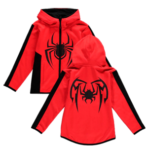 Sudadera Spider-Man Miles Morales Talla 134-140cms