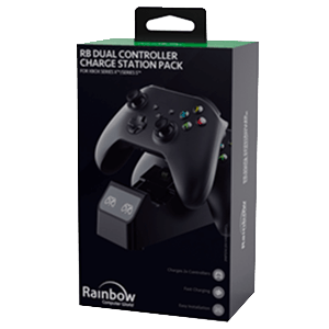 Cargador Dual Mandos XSX Rainbow