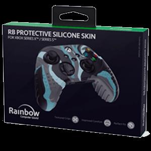 Funda Silicona Rainbow Camo