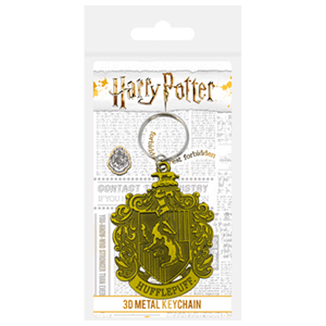Llavero de Metal Harry Potter: Hufflepuff