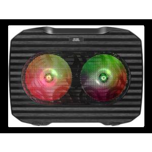 """Mars Gaming MNBC0 - 15.6"""" - 2 Ventiladores - RGB - Base Refrigeradora Gaming"""