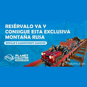 Planet Coaster - Montaña Rusa Exclusiva PS4
