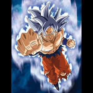 Lienzo Dragon Ball Super: Goku Ultra Instinct