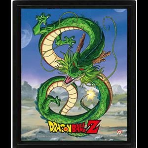 Cuadro 3D Dragon Ball Z: Shenron