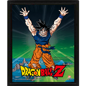 Cuadro 3D Dragon Ball Z: Power Levels
