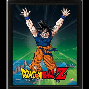 Cuadro 3D Dragon Ball Z: Power Levels