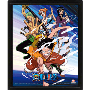 Cuadro 3D One Piece: Straw Hat Assault