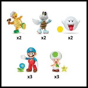 Figura Nintendo Surtido 6cm Wave 23