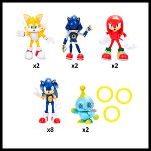 Figura Sonic Surtido 6cm Wave 1