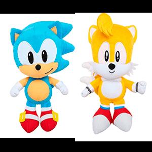 Peluche Sonic Surtido 18cm