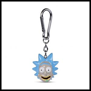 Llavero de Poliresina Rick y Morty: Rick