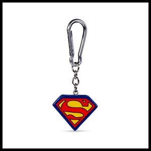 Llavero de Poliresina DC: Superman Logo