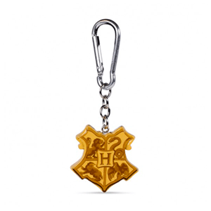 Llavero de Poliresina Harry Potter: Escudo de Hogwarts