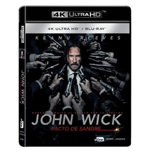 John Wick Pacto de Sangre 4K + BD