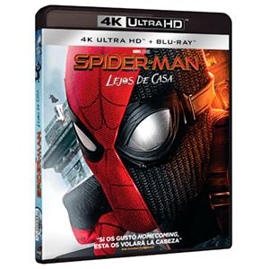Spider-Man Lejos de Casa 4K + BD