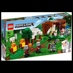 LEGO Minecraft: El Puesto de Saqueadores