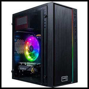 GAMEPC G21T SE - i3-10100F - GTX 1650 4GB - 8GB - 240GB SSD