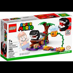 LEGO Super Mario Set de Expansión: Batalla en la jungla contra el Chomp Cadenas