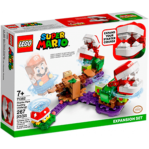 LEGO Super Mario Set de Expansión: Desafío desconcertante de las Plantas Piraña