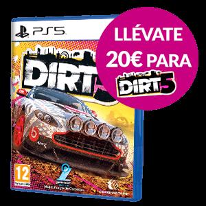 20€ de descuento en Dirt 5