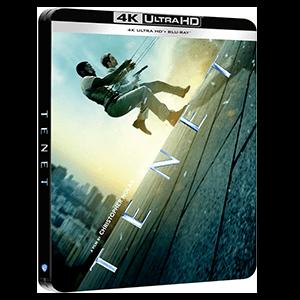 Tenet BD + 4K - Edición Steelbook