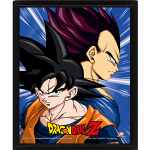 Cuadro 3D Dragon Ball Z: Protectors & Destroyers