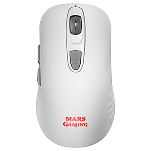 MARS GAMING MMW2 WHITE WIRELESS MOUSE